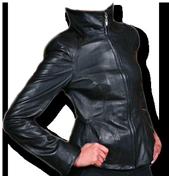 Замена молнии кожаной куртки